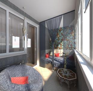 Дизайн балкона - интерьер балконов и лоджий в самаре.